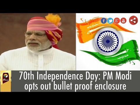 70th-Independence-Day-PM-Modi-opts-out-bullet-proof-enclosure