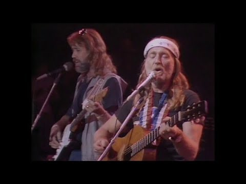 Willie Nelson live at the US Festival 1983 - Stay all night, stay a little longer