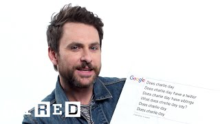 Charlie Day Answers the Web's Most Searched Questions | WIRED