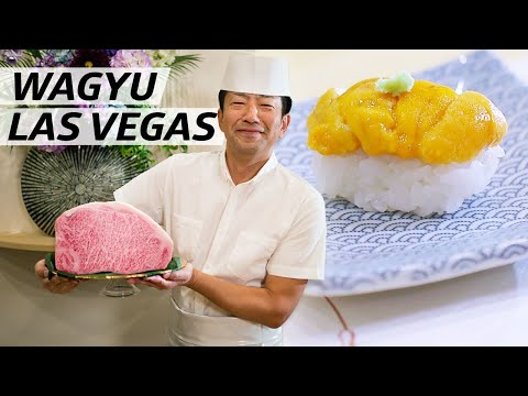 Master Sushi Chef Gen Mizoguchi Uses the Rarest Ingredients at his Las Vegas Restaurant — Omakase