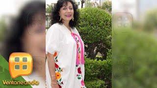Dalia Inés, hija de Flor Silvestre, relata los últimos momentos de vida de su madre.   Ventaneando