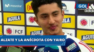 """Las anécdotas de Steven Alzate a su llegada a la Selección Colombia: """"Yairo es un poco loco"""""""