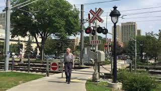 Pedestrian Railway Crossing, Edmonton, AB