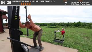 Death By Ski Erg + Walther Q5 Match! - Fitness & Firearms - Jacob Heppner