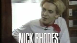 Duran Duran - Big Thing secret club tour California 1988, MTV USA