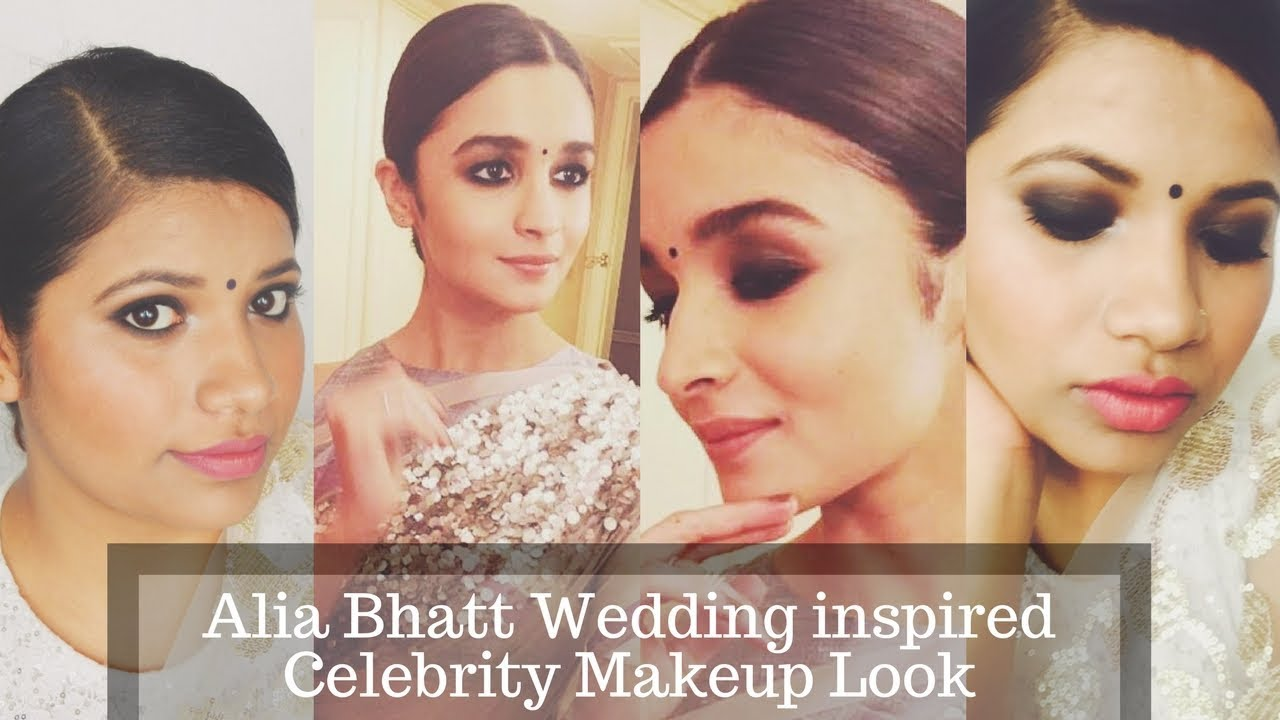 Alia Bhatt Wedding inspired Celebrity Makeup Tutorial Episode 8