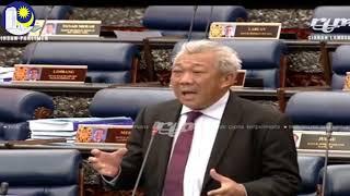 Bung Moktar menyuarakan isu masalah pembangunan & pencapaian atlet Malaysia pada masa kini.