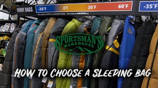 How to: Choosing a sleeping bag