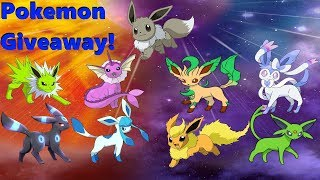 🔴Live!Shiny Eeveelutions Pick Any Pokemon You Want! Pokemon! Giveaway! Part 2! (Check Out My List!)