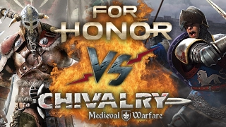Рэп Баттл - For Honor vs. Chivalry: Medieval Warfare