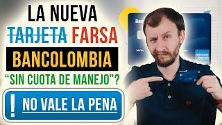Video: La Nueva Tarjeta (Farsa) De Bancolombia - American Express Libre