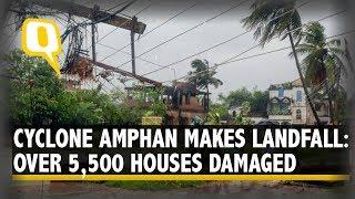 Cyclone Amphan Makes Landfall in West Bengal & Odisha, Causes Severe Damage Along Coastline