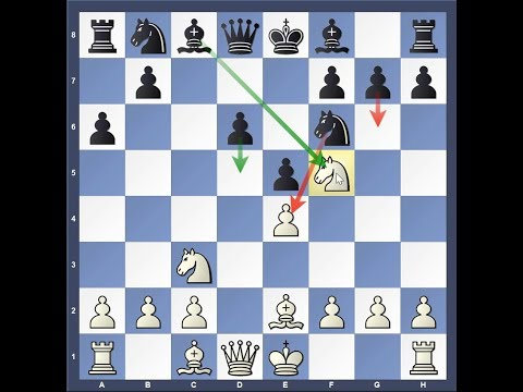 Dirty Chess Tricks against Sicilian - 16 (Najdorf/Classical Variation (6.e5))