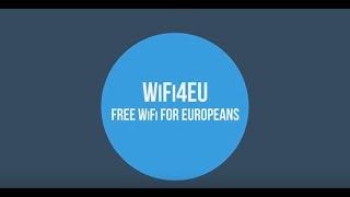 Le Wifi gratuit pour les européens !
