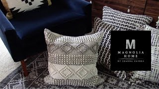 HUGE DECORATIVE PILLOW HAUL | MAGNOLIA HOME BY JOANNA GAINES | INTERIOR STYLE