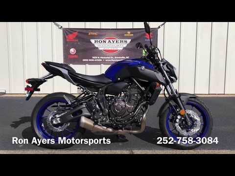 2020 Yamaha MT-07 in Greenville, North Carolina - Video 1