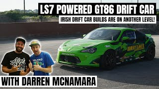 LS7 POWERED GT86 DRIFT CAR | MEAN GREEN MACHINE