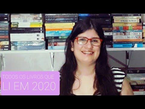 TODOS OS LIVROS QUE LI EM 2020
