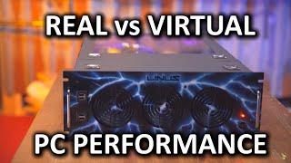 Real Computer vs Virtual Computer Performance Showdown