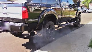 2015 Ford F350 6.7 Powerstroke - Straight Pipe and Deletes