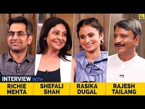 Shefali Shah, Rasika Dugal, Rajesh Tailang & Richie Mehta | Delhi Crime | Netflix | Anupama Chopra
