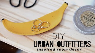 DIY URBAN OUTFITTERS INSPIRED ROOM DECOR | Jewelry Storage &Catchalls