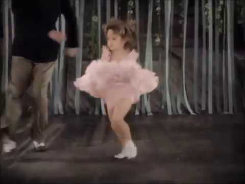 Shirley Temple Baby Take A Bow Tap Routine Short Version 1934