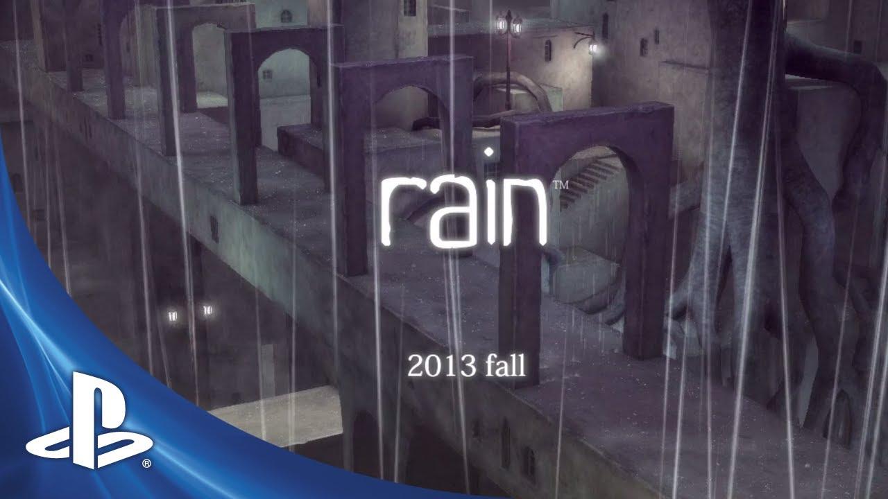 rain: Duas Silhuetas
