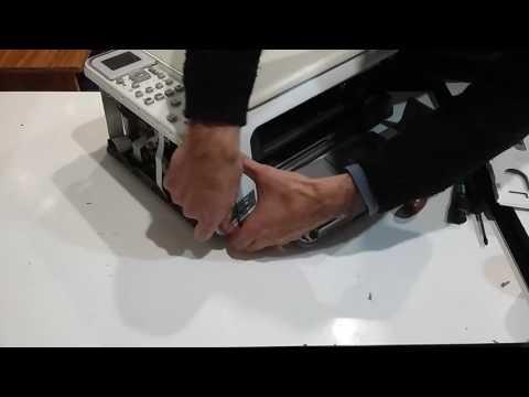 Принтер тарахтит  Ремонт сканера аппарата hp