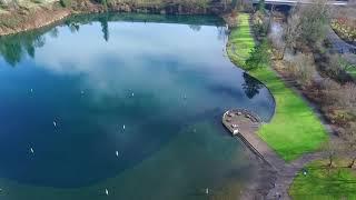Klineline Pond Clark Co WA. DJI Phantom 3 Advanced
