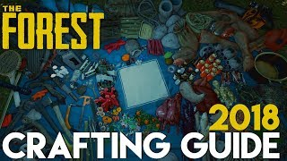 CRAFTING GUIDE 2018!   THE FOREST   [Alle Craftings V.0.73b]