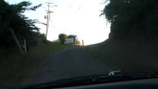 preview picture of video 'Antigua - Driving To Five Islands Back Road Near Yepton's Estate Cottages And Coconut Beach Club'