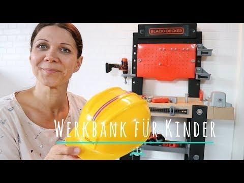Werkbank für Kinder | Smoby | Black & Decker | Spielzeug