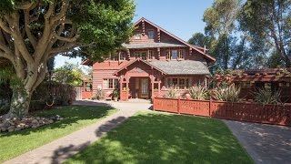 1913 Craftsman Chalet-Style Historic Home In San Marcos, California