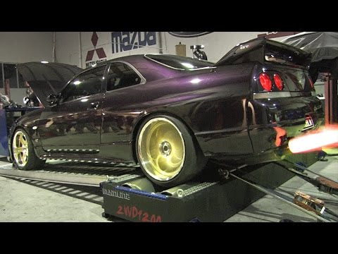 SUPRA VS SKYLINE DYNO COMPILATION #3