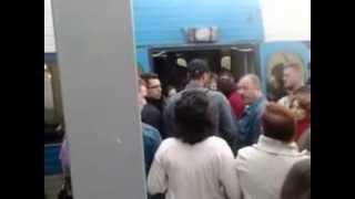 preview picture of video 'הפגנה בתחנת רכבת גני אביב  28.2.2013'