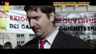 Interview de Laurent Brun, secrétaire général de la Fédération CGT des Cheminots le 5 novembre 2019