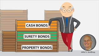 Types of bonds: Cash, Surety and Property Bonds and how to make bond in a criminal case