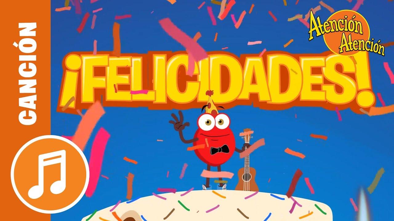 Canción de Cumpleaños Atención Atención | Vera La Pulga Viajera  - Es Para Ti