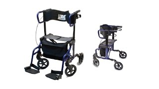 Lumex® HybridLX Rollator Youtube Video Link
