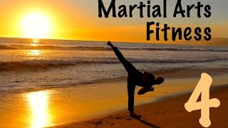 Martial Arts Workout - Kung Fu Fitness Santa Monica, California by Kung Fu & Tai Chi Center w/ Jake Mace