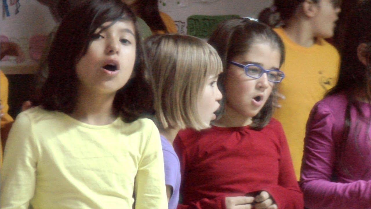 Amen - Villancico en inglés de coro infantil