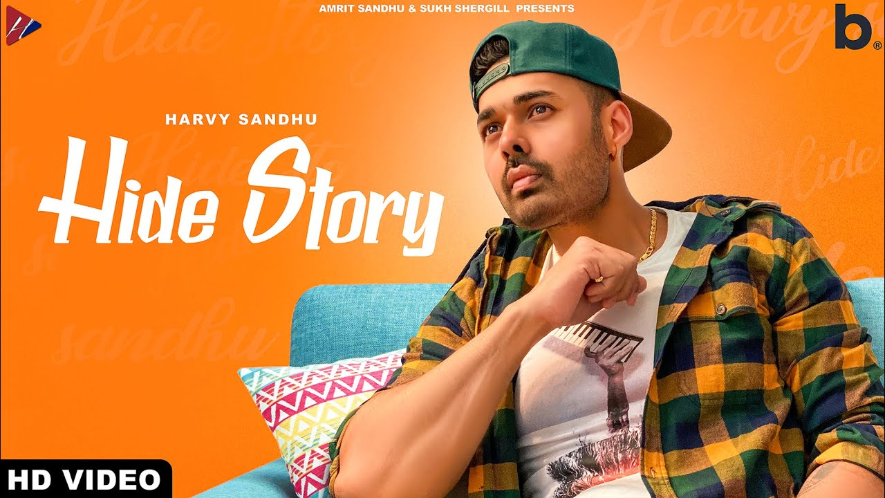 Hide Story Lyrics - Harvy Sandhu