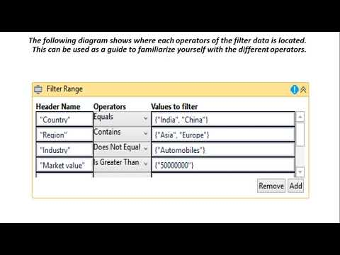 DataTable Filter activity - UiPath Tutorial For Beginners