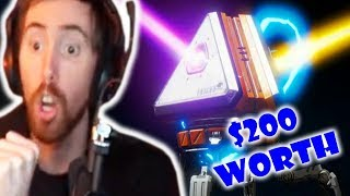 Asmongold OPENS $200 WORTH of Apex Legends LOOT CRATES