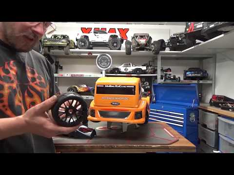 CARSON 1/8 GT RADIAL REIFEN MIT RC RACE SHOP