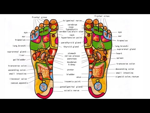 Video What is Foot Reflexology - Foot Massage And Benefits - How to do Foot Reflexology Step By Step
