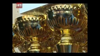 В спорткомплексе Манеж сегодня наградили победителей открытого чемпионата области по спортивной акробатике