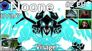 Noone plays Visage!!! Dota 2 7.20