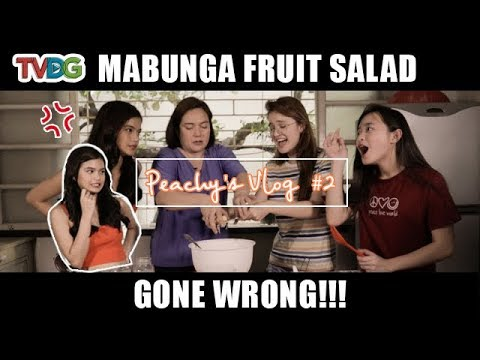 Peachy's Vlog: Ang secret recipe ng Mabunga Fruit Salad | Pamilya Ko